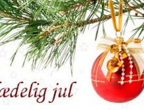 Vi ønsker alle en glædelig Jul